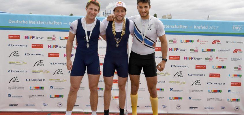 Deutsche Kleinbootmeisterschaften in Krefeld 21.-23.04.2017