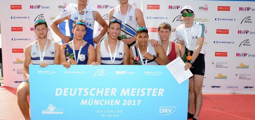 DEUTSCHE MEISTERSCHAFTEN U17, U19, U23 IN MÜNCHEN VOM 22.-25.06.2017