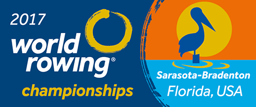 WORLD ROWING CHAMPIONSHIPS IN SARASOTA-BRADENTON/USA VOM 24.09.-01.10.2017