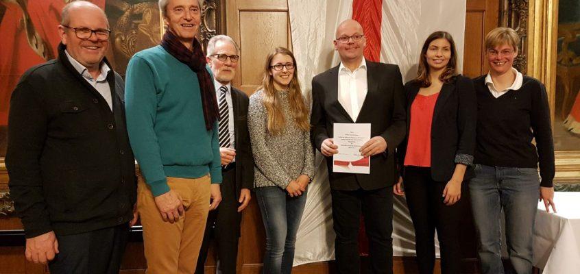 SPORT- EHRENNADEL DER STADT KOBLENZ AN ANDRÈ  SCHALLENBERGER