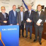 JAHRESHAUPTVERSAMMLUNG  DES KOBLENZER RUDERCLUB RHENANIA,  PRÄSIDENT LUTZ ITSCHERT WIEDERGEWÄHLT